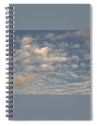 Soft Clouds Spiral Notebook