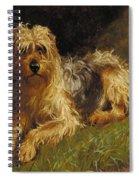 Soft Coated Wheaten Terrier  Spiral Notebook