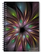 Soft Colors Of The Rainbow Spiral Notebook