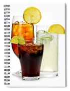 Soft Drinks Spiral Notebook