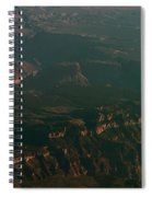 Soft Early Morning Light Over The Grand Canyon 2 Spiral Notebook