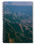 Soft Early Morning Light Over The Grand Canyon 4 Spiral Notebook