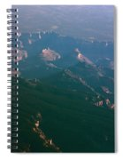 Soft Early Morning Light Over The Grand Canyon 5 Spiral Notebook