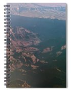 Soft Early Morning Light Over The Grand Canyon Spiral Notebook