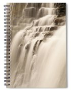 Soft Flow Spiral Notebook