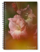Soft Gladiolus Spiral Notebook