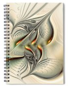 Soft Glow Spiral Notebook