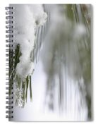 Soft Ice Spiral Notebook