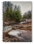 Soft Maple Water Fall Spiral Notebook
