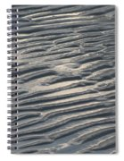 Soft Ripples Spiral Notebook