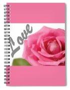 Soft Rose Spiral Notebook