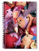 Soft Toys 02 Spiral Notebook