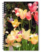 Soft Spring Colors Spiral Notebook