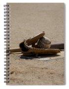 Softball Spiral Notebook