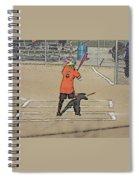Softball Star Spiral Notebook