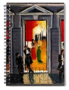 Soiree Parisienne Spiral Notebook