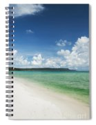 Sok San Area Of Long Beach In Koh Rong Island Cambodia Spiral Notebook