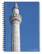 sokullu pasa camii Mosque minaret Spiral Notebook