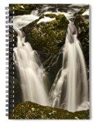 Sol Duc River Cascade Spiral Notebook