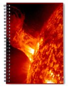 Solar Eruption Spiral Notebook