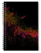 Solar Flare Spiral Notebook