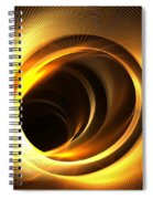 Solar Mass Spiral Notebook