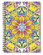 Solar Sunstar Spiral Notebook