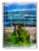 Soldier Field Chicago Photo Art 01 Spiral Notebook