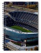 Soldier Field Chicago Sports 06 Spiral Notebook