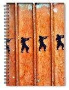 Soldier Graffiti Spiral Notebook