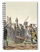 Soldiers And Artillery Of The 15th Spiral Notebook