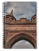 Soldiers And Sailors Memorial Arch Spiral Notebook