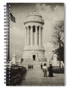 Soldiers Memorial - Ny - Toned Spiral Notebook