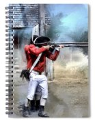 Soldiers Of The King Spiral Notebook