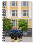 Soldiers Of The Presidential Regimental Spiral Notebook