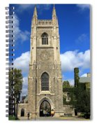 Soldiers Tower 4 Spiral Notebook