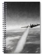 Wounded Warrior - Charcoal Spiral Notebook