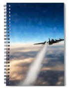 Wounded Warrior - Pastel Spiral Notebook