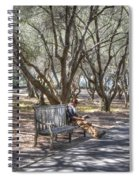 Solitaire Reading Spiral Notebook