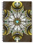 Solitary Bird Of Prey Spiral Notebook