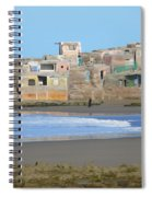 Solitary Journey Spiral Notebook