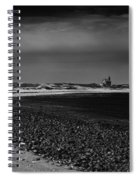 Solitary Lighthouse Spiral Notebook