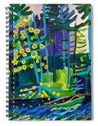 Solitude At Massapoag Lake Spiral Notebook