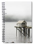 Solitude Begets Whimsies Spiral Notebook