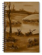 Solitude Of Winter Spiral Notebook