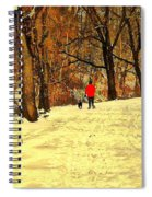 Solitude With A Friend Spiral Notebook