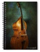 Solo Upright Bass Spiral Notebook