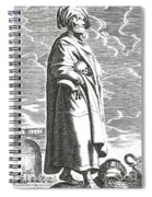 Solon Of Athens, Sage Of Greece Spiral Notebook