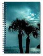 Some Kind Of Blue Spiral Notebook