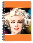 Marilyn - Some Like It Hot Spiral Notebook